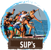SUP's and Prone Paddle Boards